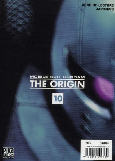 Dos gundam, the origin tome 10 - char et seila 2ème partie