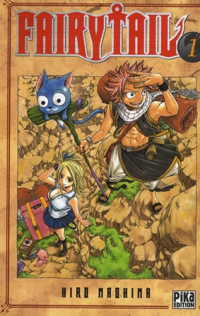 Couverture fairy tail tome 1