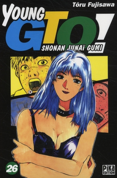Couverture young gto tome 26