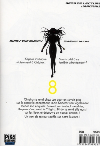 Dos tetsuwan birdy tome 8