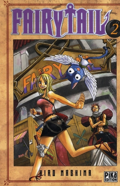 Couverture fairy tail tome 2
