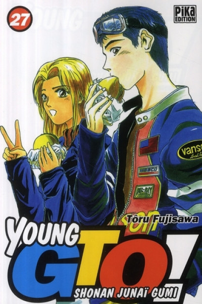 Couverture young gto tome 27