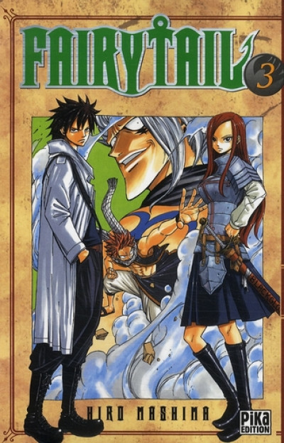 Couverture fairy tail tome 3