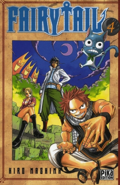 Couverture fairy tail tome 4