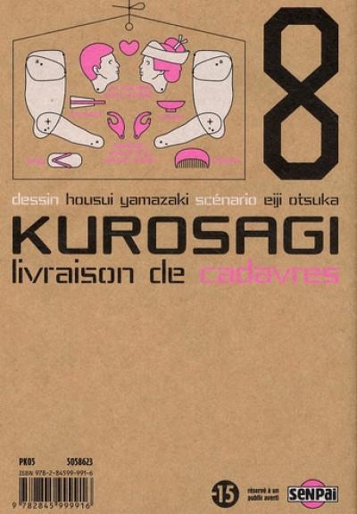 Dos kurosagi, livraison de cadavres tome 8