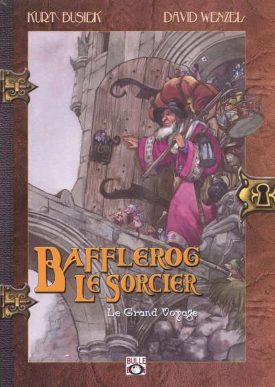 Couverture Bafflerog le sorcier tome 1 - le grand voyage