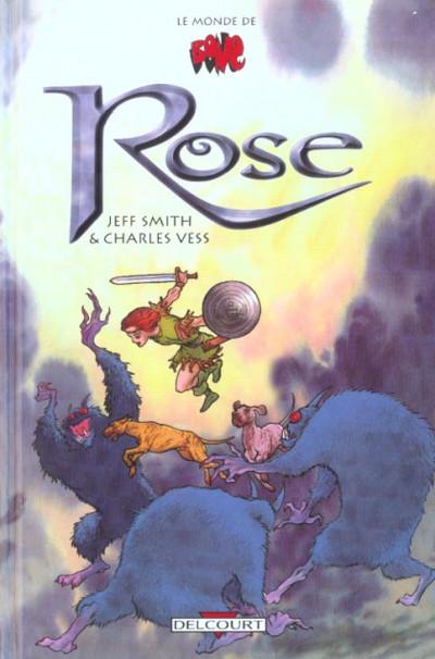 Couverture hors-série bone tome 2 - rose