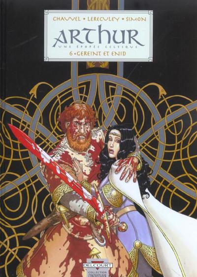 Couverture arthur tome 6 - gereint et enid
