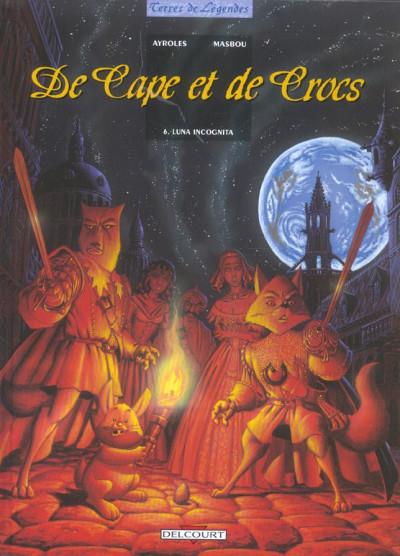 image de De cape et de crocs tome 6 - luna incognita