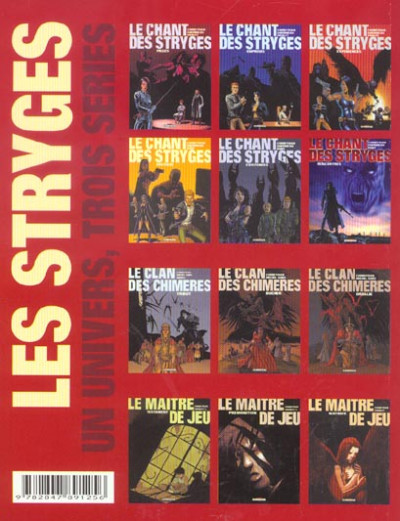 Dos Le chant des stryges tome 1 - ombres