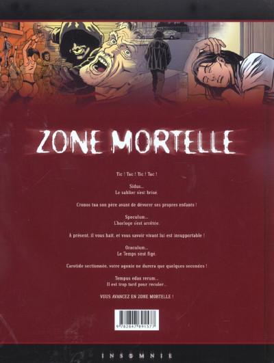 Dos zone mortelle tome 1 - cronos