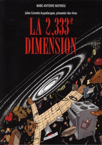 Couverture julius corentin acquefacques tome 5 - la 2333è dimension