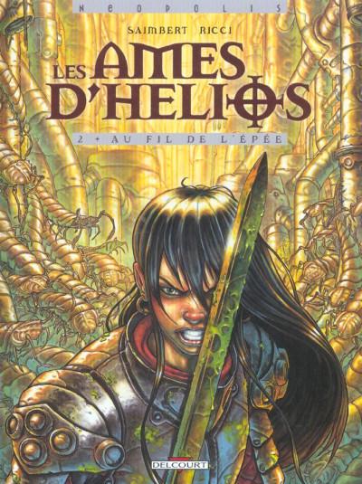 Couverture les âmes d'hélios tome 2 - au fil de l'épée