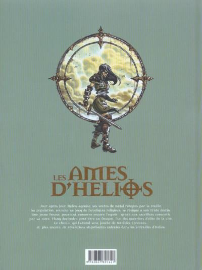 Dos les âmes d'hélios tome 2 - au fil de l'épée