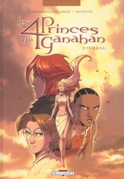 image de les 4 princes de ganahan tome 2 - shâal