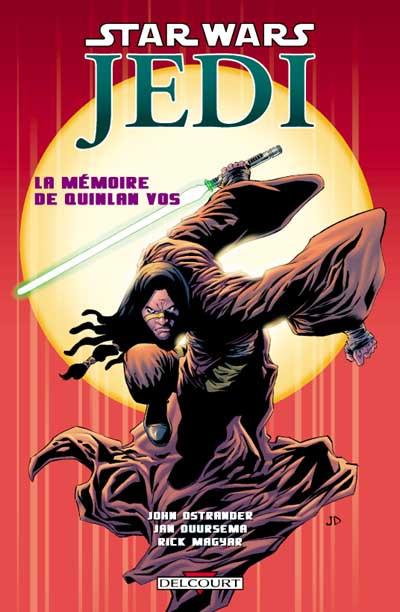 Couverture star wars - jedi tome 1 - la mémoire de quinlan vos (1re éd.)