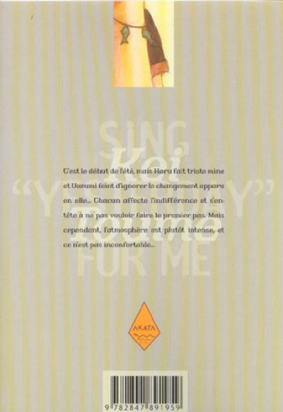 Dos sing yesterday for me tome 2