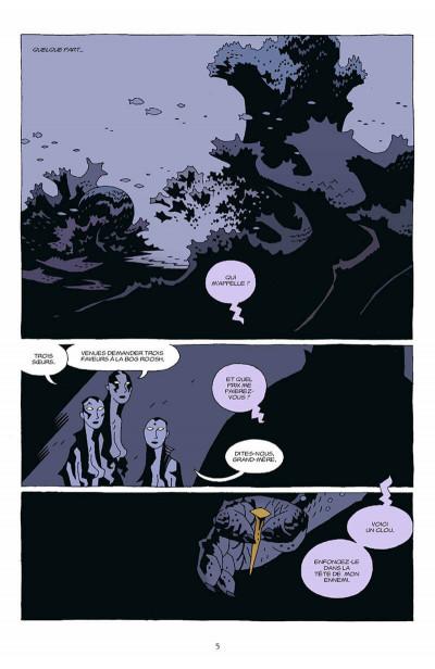 Page 6 hellboy tome 7 - le troisième souhait