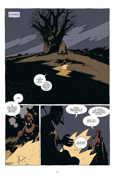 Page 7 hellboy tome 7 - le troisième souhait