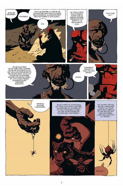 Page 8 hellboy tome 7 - le troisième souhait