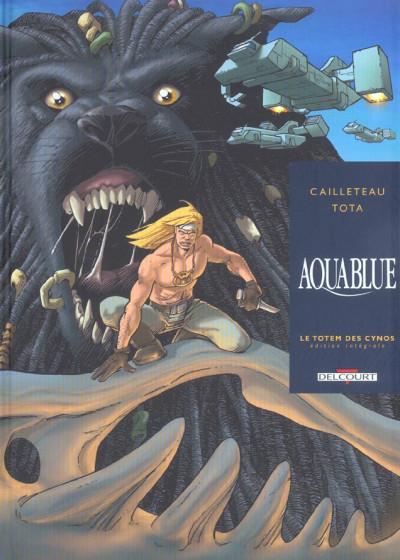 Couverture aquablue tome 9 - le totem des cynos (édition intégrale)