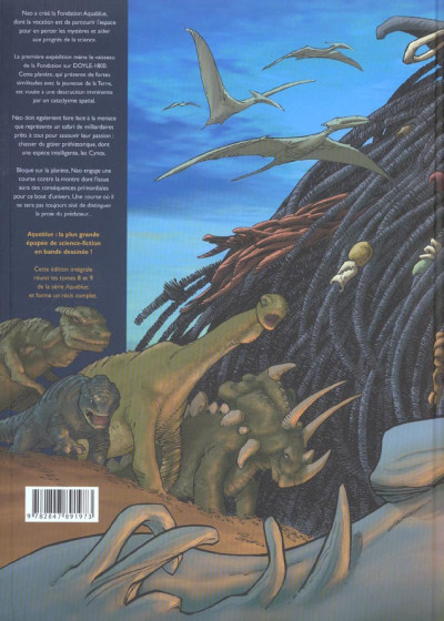 Dos aquablue tome 9 - le totem des cynos (édition intégrale)