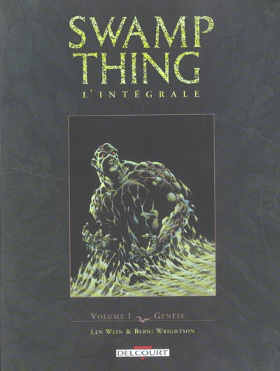 Couverture Swamp thing - intégrale tome 1