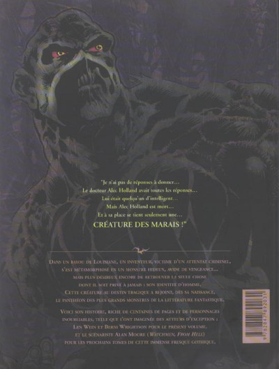 Dos Swamp thing - intégrale tome 1