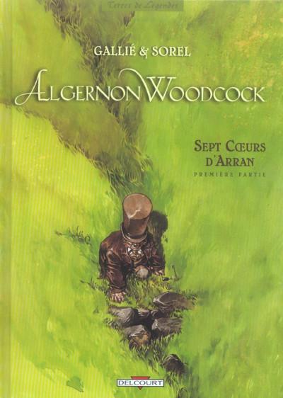 image de algernon woodcock tome 3 - sept coeurs d'arran première partie