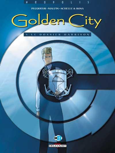 Couverture Golden city tome 5 - le dossier harrison