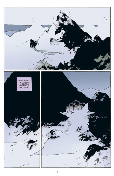 Page 4 b.p.r.d. tome 1 - au creux de la terre et autres histoires