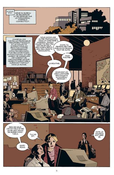 Page 7 b.p.r.d. tome 1 - au creux de la terre et autres histoires