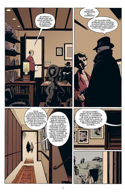 Page 8 b.p.r.d. tome 1 - au creux de la terre et autres histoires