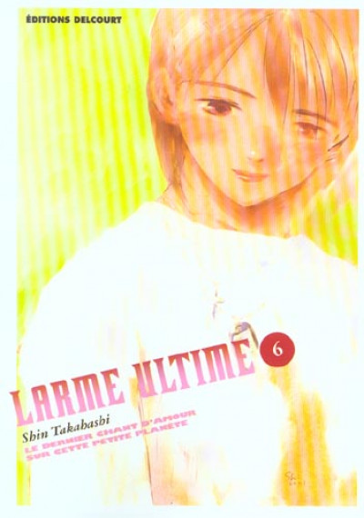 Couverture larme ultime tome 6