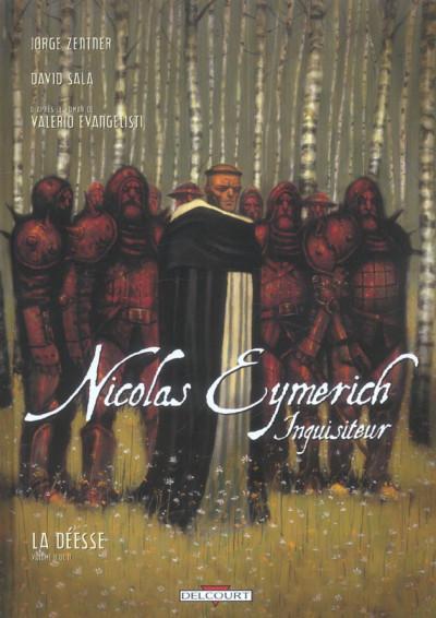 Couverture nicolas eymerich, inquisiteur tome 2 - la déesse