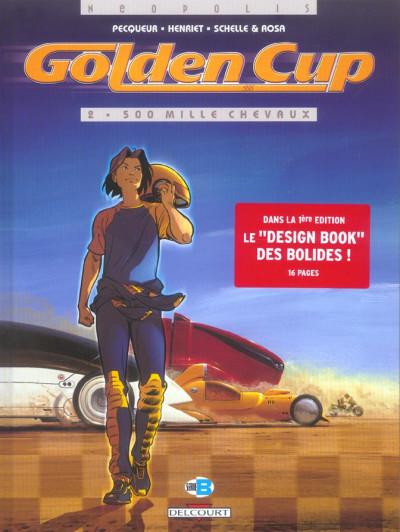 image de golden cup tome 2 - 500 mille chevaux