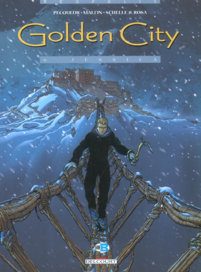 Couverture golden city tome 6 - jessica