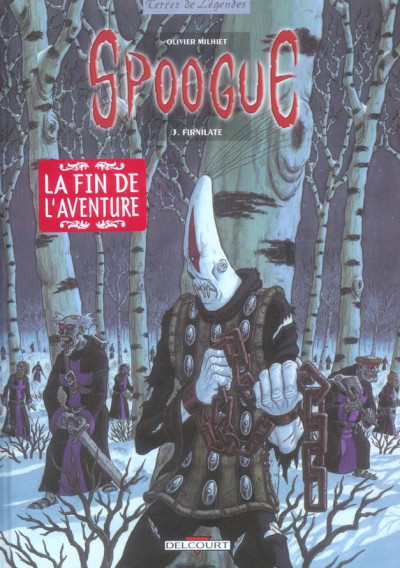 Couverture spoogue tome 3 - firnilate