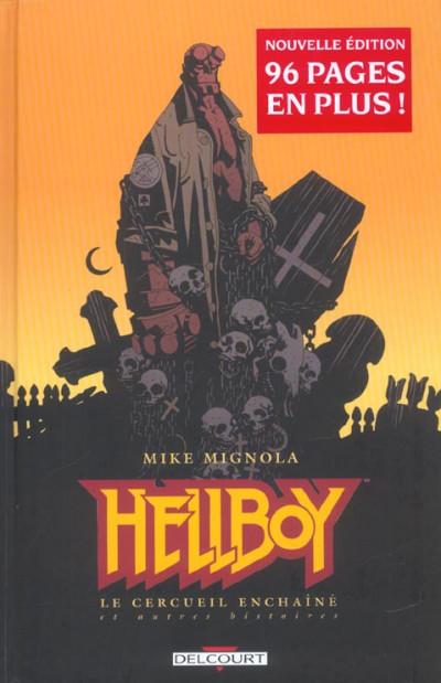 Couverture hellboy tome 3 - le cercueil enchainé