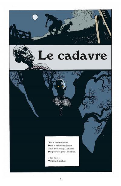 Page 6 hellboy tome 3 - le cercueil enchainé