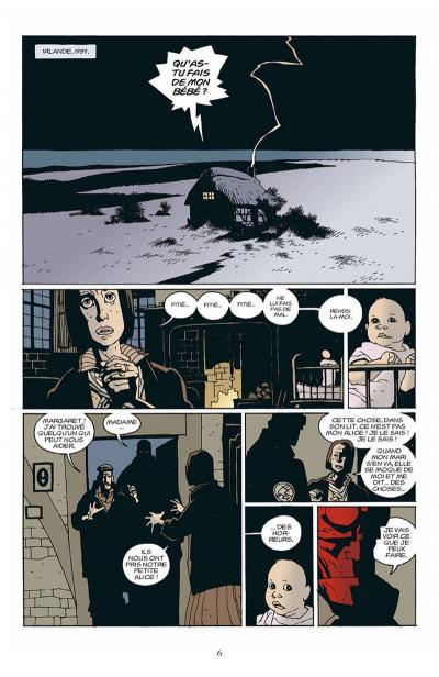 Page 7 hellboy tome 3 - le cercueil enchainé