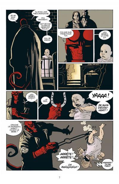 Page 8 hellboy tome 3 - le cercueil enchainé