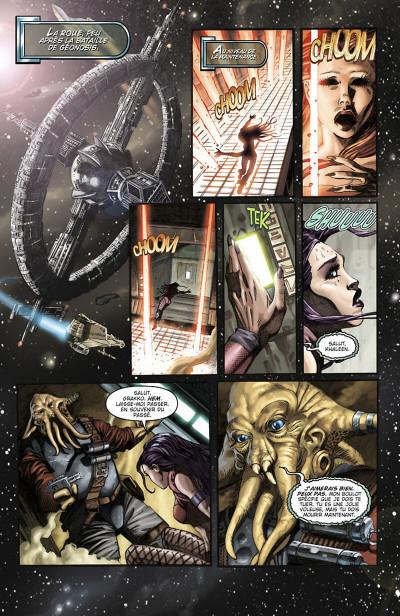 Page 6 star wars - clone wars tome 1 - la défense de kamino