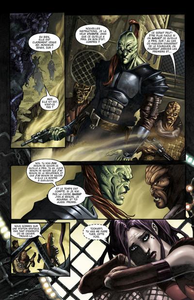 Page 8 star wars - clone wars tome 1 - la défense de kamino