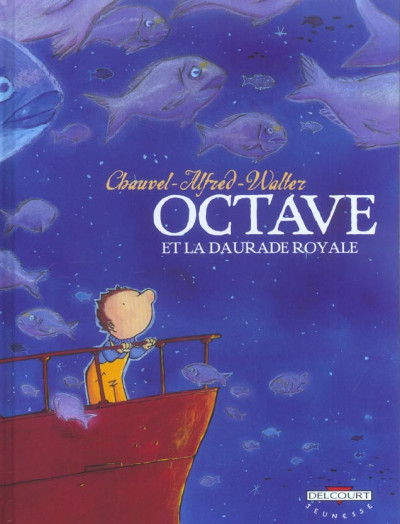 Couverture octave tome 2 - octave et la daurade royale