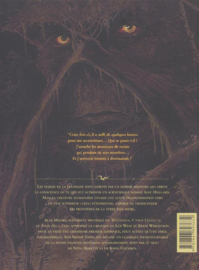 Dos Swamp thing - intégrale tome 3