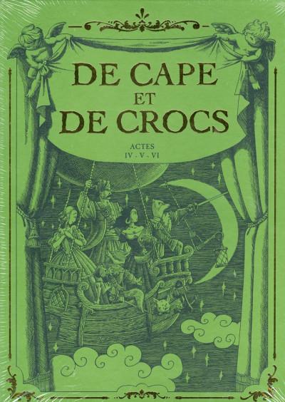 Couverture de cape et de crocs - coffret tome 4 à tome 6