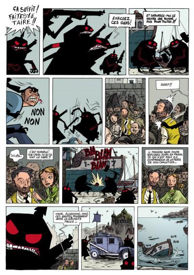 Page 2 le désespoir du singe tome 1 - la nuit des lucioles