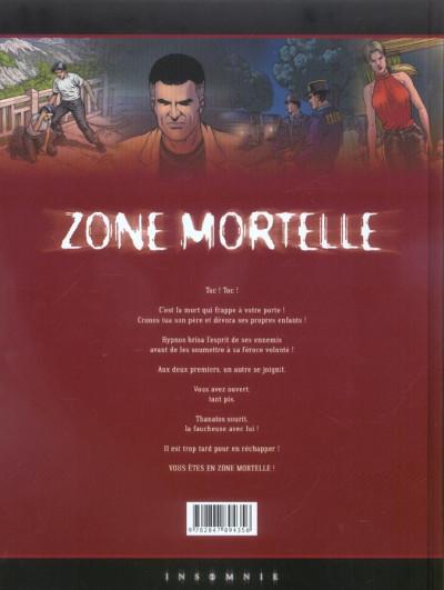 Dos Zone mortelle tome 3 - thanatos