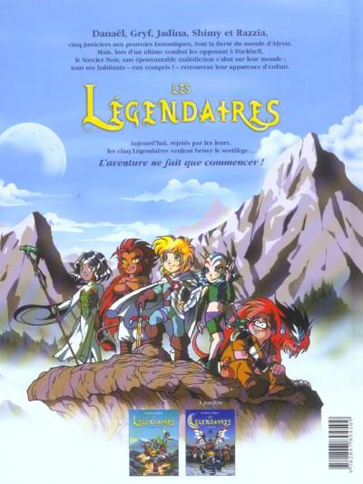 Dos Les légendaires tome 1